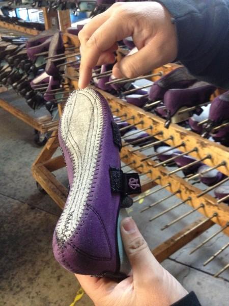 Скальные туфли на колодке