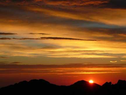 sunrise at diamond