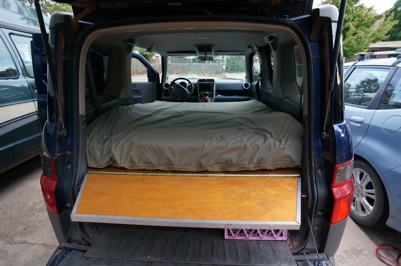 What To Do With Old Car Seats >> Dogs and Honda Element Bed Platform | Steph Davis - High ...