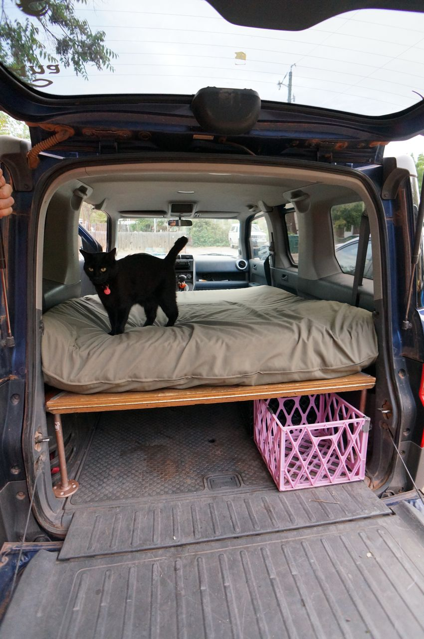 Dogs And Honda Element Bed Platform Steph Davis High