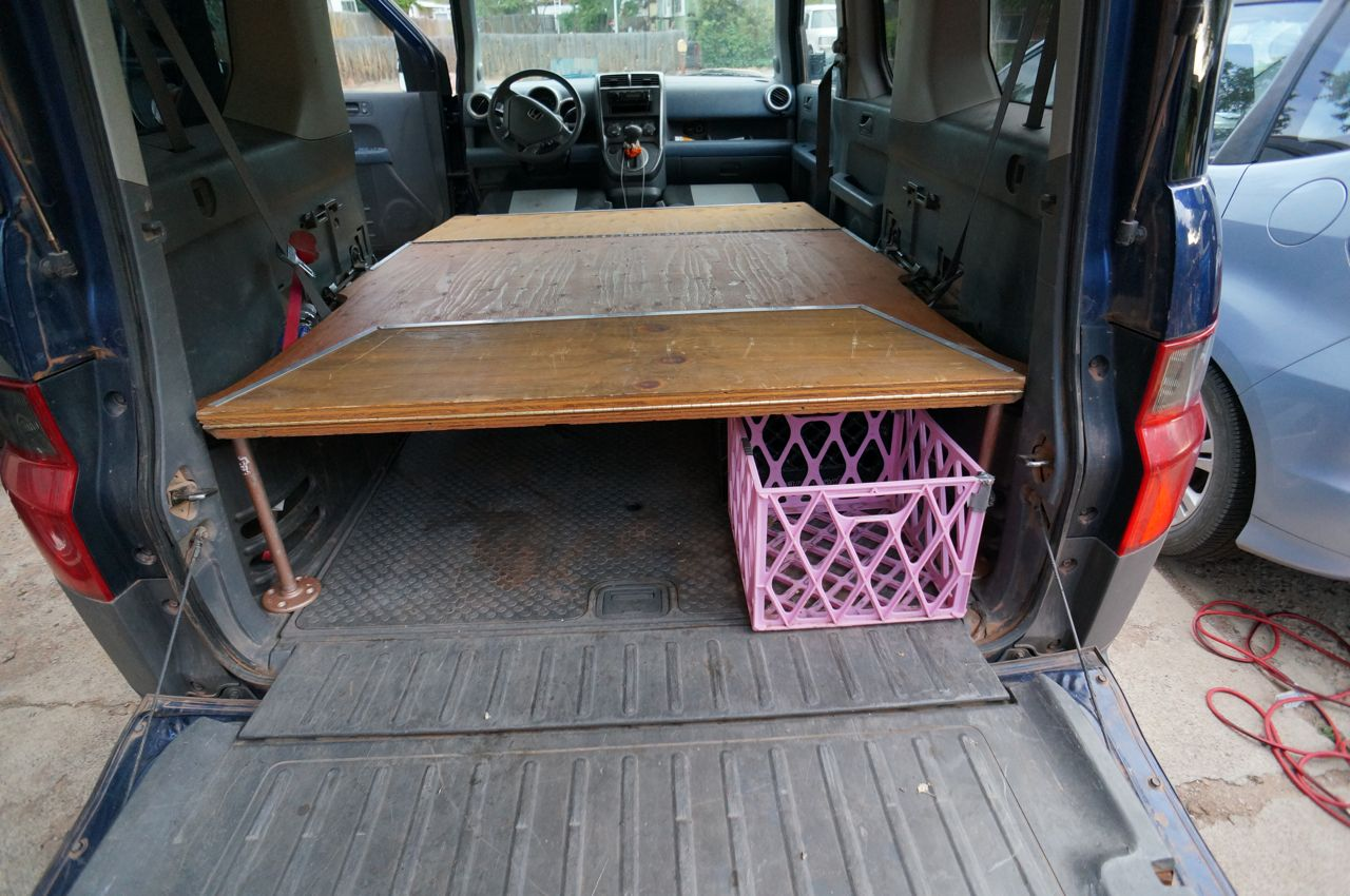 Dogs And Honda Element Bed Platform Steph Davis High Places