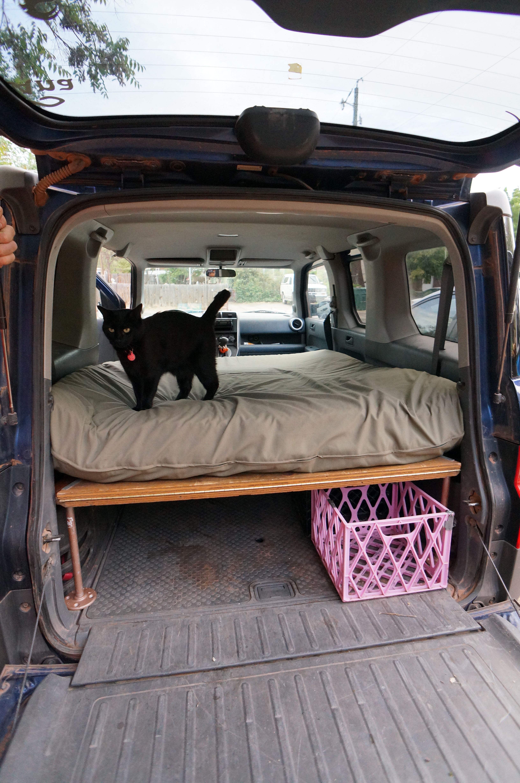 Honda Element Ecamper For Sale >> To Van or Not to Van: Van Living 1 | Steph Davis - High Places