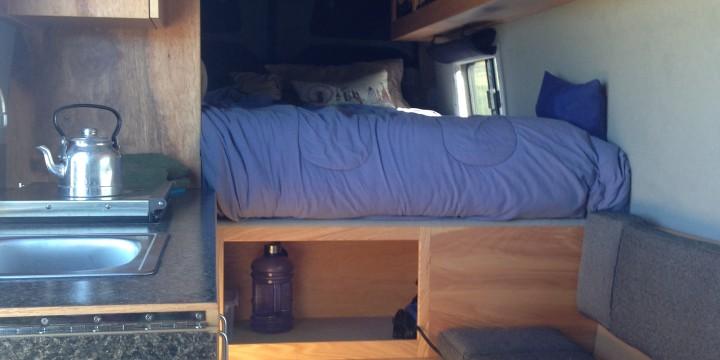 c45563665e Sprinter Van Buildout  Van Living 4