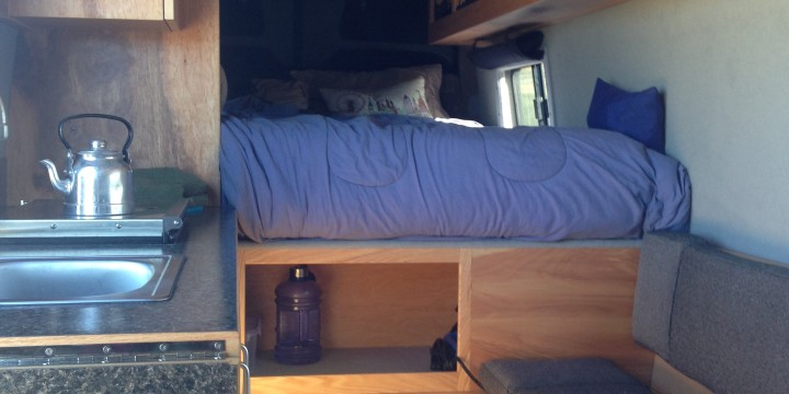 Sprinter Van Buildout Van Living 4 Steph Davis High