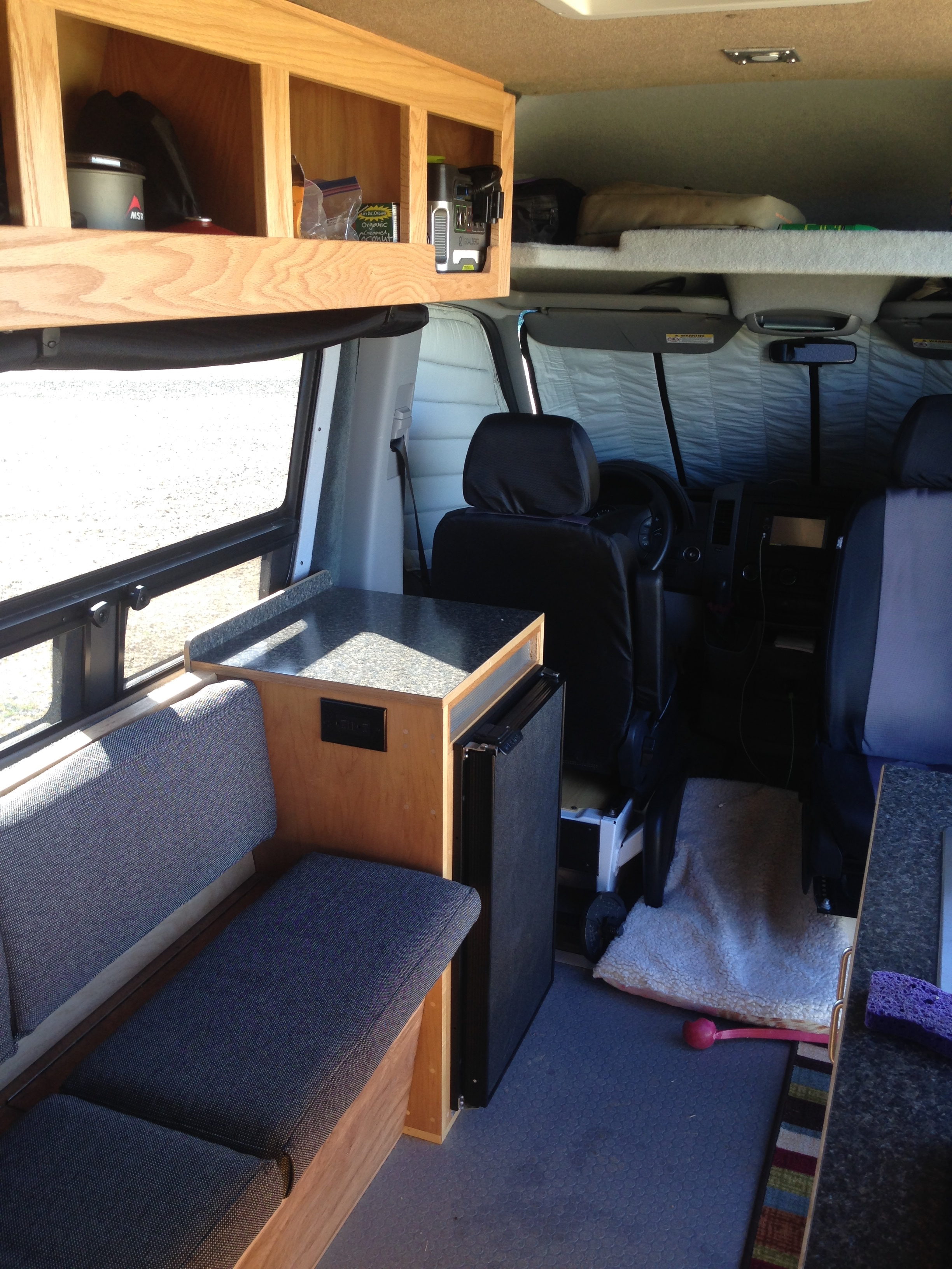 Sprinter Van Buildout Living 4