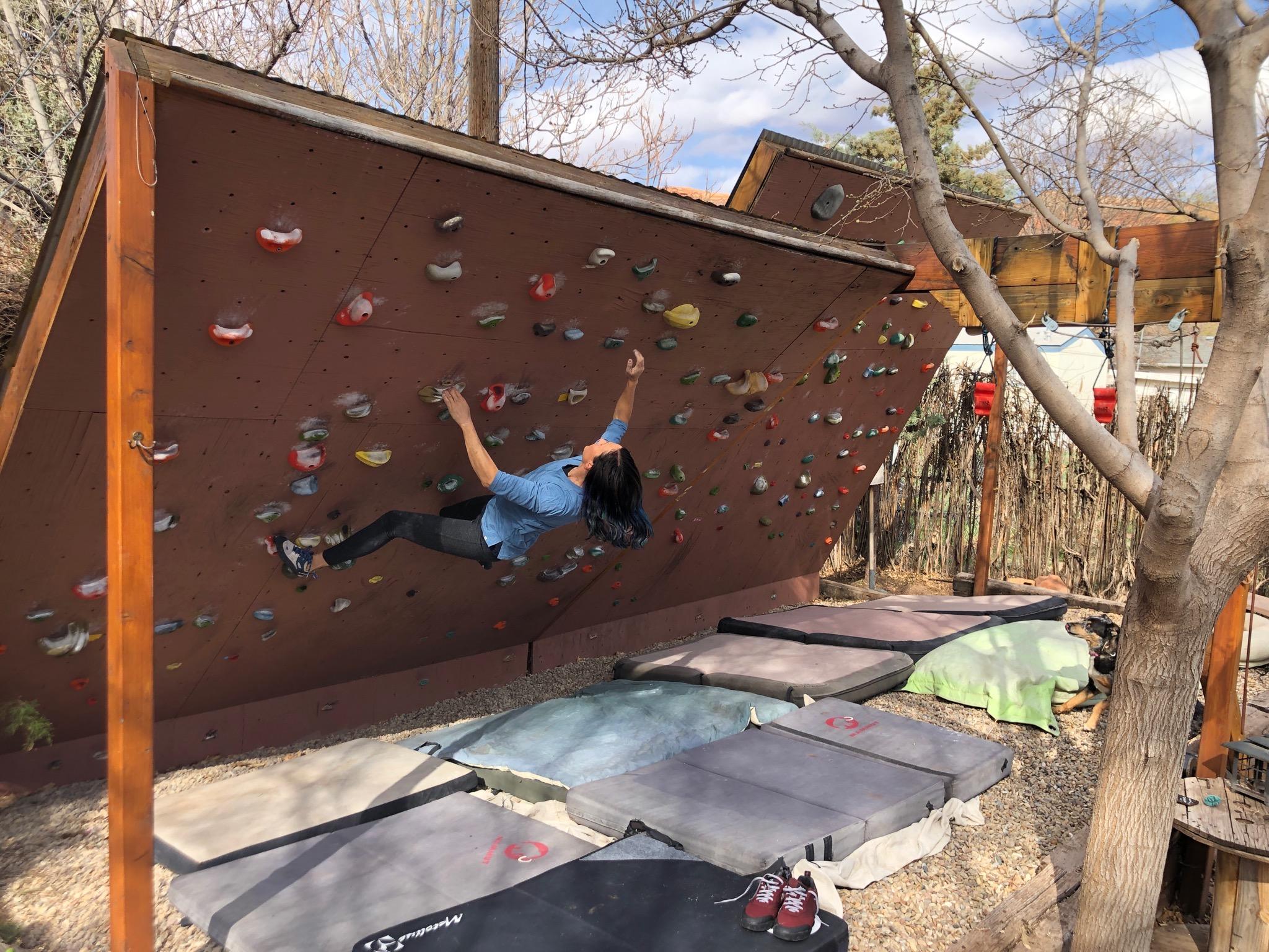 Building A Backyard Climbing Wall Steph Davis High Places